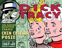 Complete Chester Gould's Dick Tracy Volume 24 - Dick Tracy 24 (Hardback)