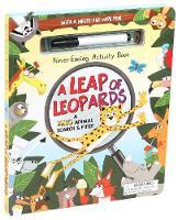 Never-Ending Activity Book: A Leap of Leopards (Hardback)