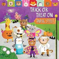 Trick or Treat on Animal Street (Board book)
