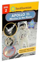 Smithsonian Reader: Apollo 11: Mission to the Moon Level 2 - Smithsonian Leveled Readers (Paperback)
