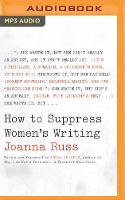 How to Suppress Women's Writing (CD-Audio)