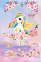 Unicorn's powers: Lined Paper Book with a colored unicorn illustrations on each page-Blush Notes Paper for writing in with colored illustration on each page -6 x 9- 150 Pages, Perfect for School, Office & Home- Thick Paper (Paperback)