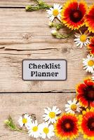 Checklist Planner for teens and adults (Paperback)