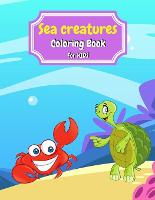 Sea Creatures Coloring Book For Kids (Paperback)