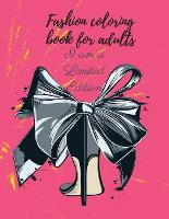 Fashion coloring book for adults (Paperback)