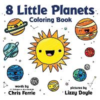 8 Little Planets Coloring Book (Paperback)