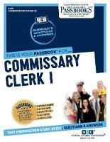 Commissary Clerk I (Paperback)