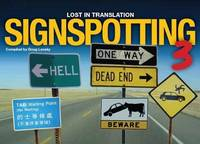 Signspotting: v. 3: Lost in Translation (Paperback)