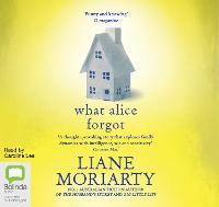 What Alice Forgot (CD-Audio)