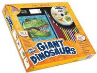 Garry Fleming's How to Draw Giant Dinosaurs (Board book)