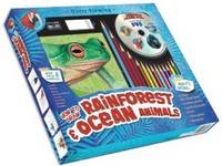 Garry Fleming's How to Draw Rainforest & Ocean Animals (Board book)