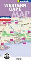 Road Map Western Cape (Sheet map, folded)