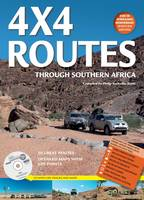 4x4 Routes Through Southern Africa: Includes Free Bonus CD with GPS Tracks and Maps