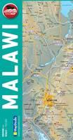 Adventure Road Map Malawi (Sheet map, folded)