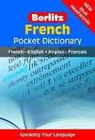 Berlitz Pocket Dictionary French (Langenscheidt): (Bilingual dictionary) - Berlitz Pocket Dictionary (Paperback)