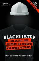 Blacklisted: The Secret War Between Big Business and Union Activists (Paperback)