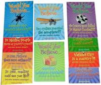 Would You Believe Collection: Includes Would You Believe... Two Cyclists Invented the Aeroplane?, Marzipan Contains Cyanide?, Cobwebs Stop Wounds Bleeding?, The Losers Were Killed in Mayan Football? - Would You Believe... (Paperback)