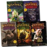 Spiderwick Chronicle Collection Set (field Guide, the Seeing Stone, Lucinda's Secret, the Ironwood Tree, the Wrath of Mulgarath) (Paperback)
