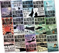 Alistair Maclean Collection Pack Set (the Lonely Sea, South by Java Head, San Andreas, the Guns of Navarone, Fear is the Key, H.M.S Ulysses, Force 10 from Navarone, Night without End and More)