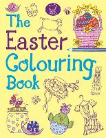 The Easter Colouring Book (Paperback)