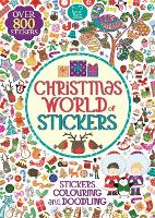 Christmas World of Stickers - Sticker Activity (Paperback)
