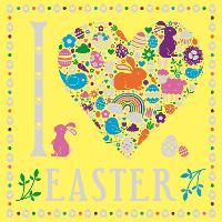I Heart Easter - I Heart Pocket Colouring (Paperback)
