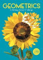 Geometrics: A Striking Geometric Sticker Challenge - Sticker by Number Geometric Puzzles (Paperback)