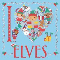 I Heart Elves - I Heart Colouring (Paperback)