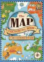 The Map Colouring Book: A World of Things to Colour (Paperback)