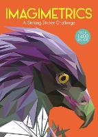 Imagimetrics: A Striking Sticker Challenge - Sticker by Number Geometric Puzzles (Paperback)