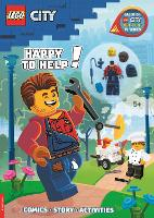 LEGO (R) City: Happy to Help! (with Harl Hubbs minifigure) (Paperback)