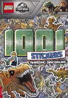 LEGO (R) Jurassic World (TM): 1001 Stickers: Amazing Dinosaurs (Paperback)