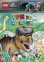LEGO (R) Jurassic World (TM): Fun to Colour (Paperback)