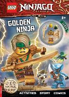 LEGO (R) NINJAGO (R): Golden Ninja Activity Book (with Lloyd minifigure)