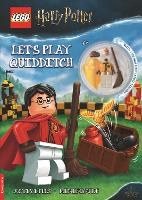 LEGO (R) Harry Potter (TM): Let's Play Quidditch activity book (with Cedric Diggory minifigure) (Paperback)