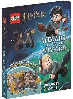 LEGO (R) Harry Potter (TM): Wizard vs Wizard (Includes Harry Potter (TM) and Draco Malfoy (TM) LEGO (R) minifigures, pop-up play scenes and 2 books)