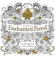 Enchanted Forest: An Inky Quest and Colouring Book (Paperback)