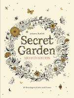 Secret Garden Artist's Edition: A Pull-Out and Frame Colouring Book: A Pull-Out and Frame Colouring Book (Paperback)