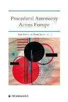 Procedural Autonomy Across Europe (Paperback)