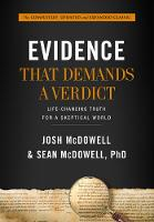 Evidence that Demands a Verdict (Anglicized): Life-Changing Truth for a Sceptical World (Hardback)