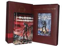 Tony Ballantyne, 2 Books Collection Set: (Twisted Metal & (hardcover) Blood and Iron) (Paperback)