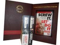 Richard Branson, 3 Books Collection Pack Set: (Screw it, Let's Do it: Lessons in Life (quick Read), Losing My Virginity: The Autobiography & Business Stripped Bare: Adventures of a Global Entrepreneur) (Paperback)