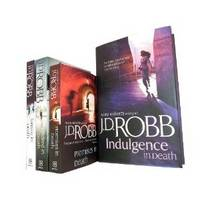 J D Robb 4 Book Series Collection Gift Set: (Indulgence in Death [hardcover], Fantasy in Death, Kindred in Death, Promises in Death) - In Death (Paperback)