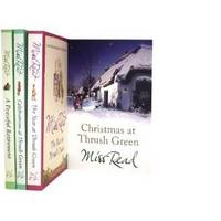 Miss Read Thrush Green Series Collection: Year at Thrush Green, Christmas at Thrush Green, Celebrations at Thrush Green, a Peaceful Retirement.