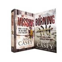 Jane Casey Collection: Burning & the Missing (Paperback)
