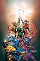 Green Lantern - New Guardians: Ring Bearer v. 1 (Hardback)