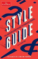 The Economist Style Guide: 12th Edition (Paperback)