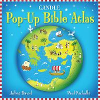 Candle Pop-Up Bible Atlas (Hardback)