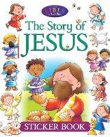 The Story of Jesus Sticker Book - Candle Bible for Toddlers (Paperback)