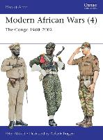 Modern African Wars (4): The Congo 1960-2002 - Men-at-Arms (Paperback)